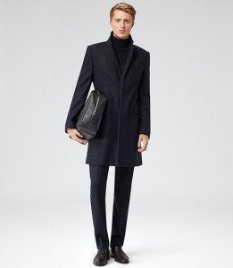 REISS Chaplin overcoat