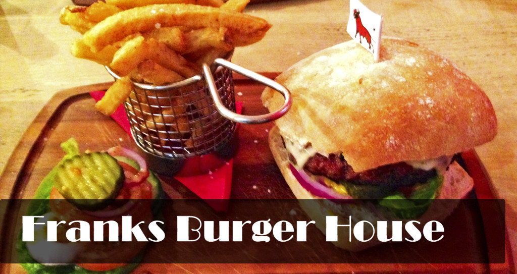 franks hamburger house burger