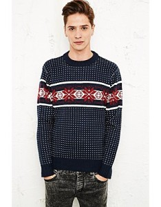 Urban Outfitters: Vintage Renewal Winter Knit Christmas Jumper: £50
