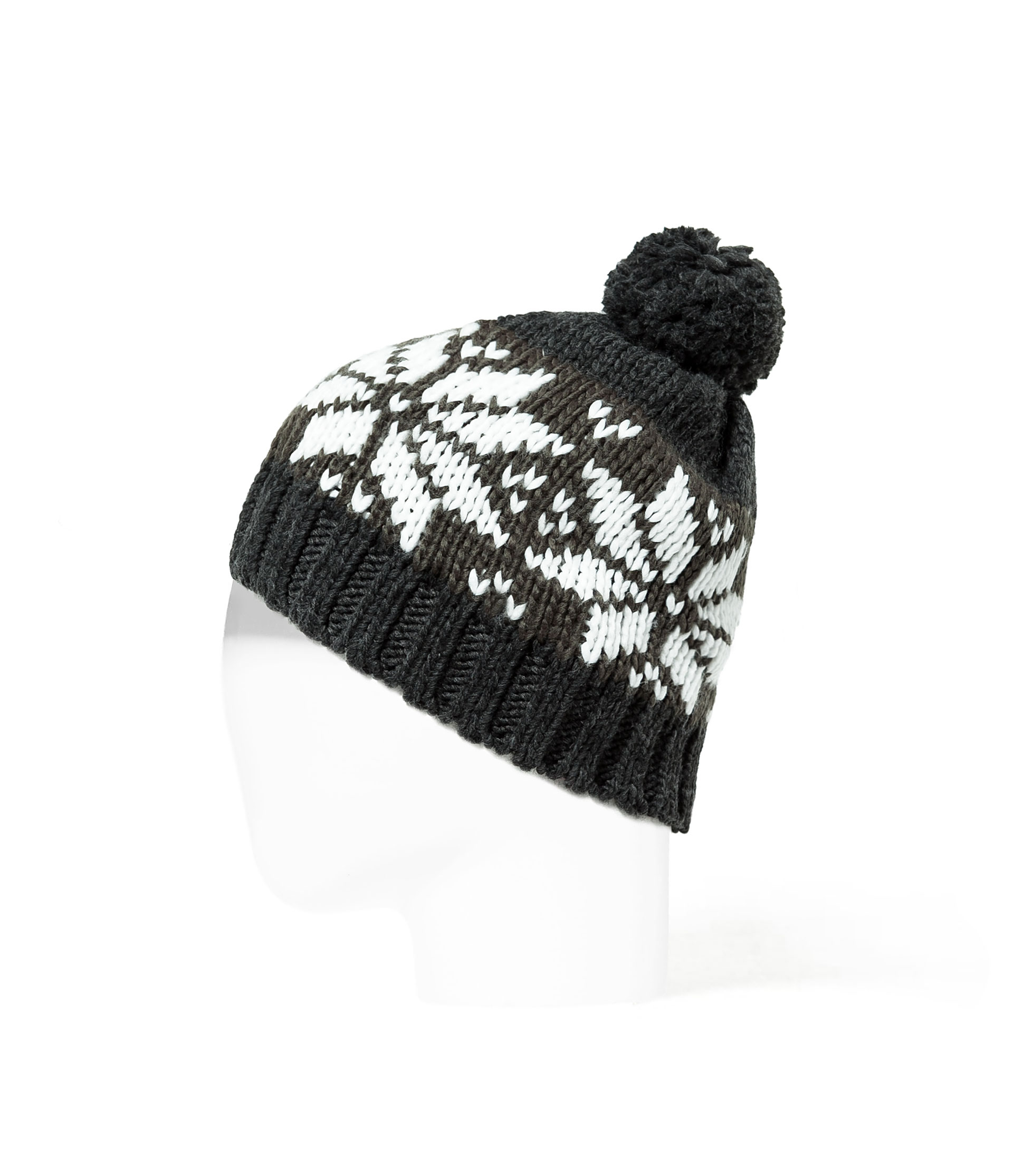 Zara Bobble Jacquard Pattern Knitted Hat: £12.99