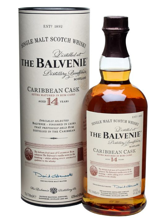 The Balvanie 14 years Caribbean Cask