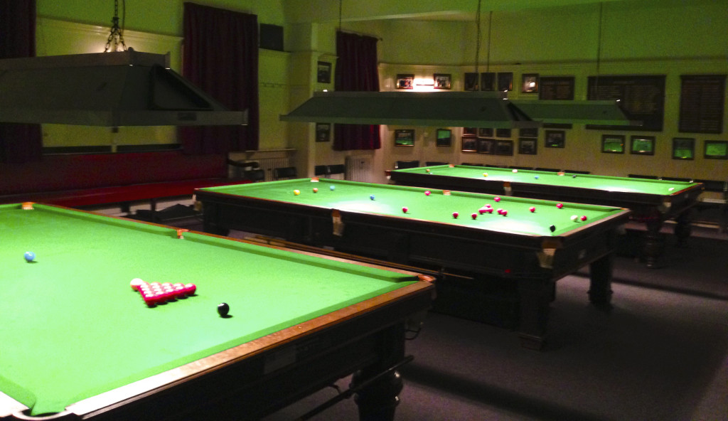 Cheyne Walk Club Snooker Tables