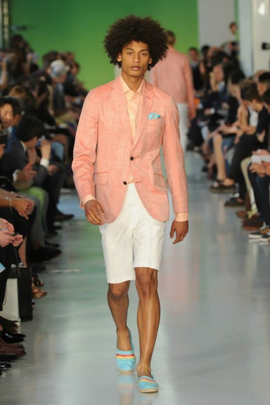 Richard James Spring/Summer '14 Menswear Collection