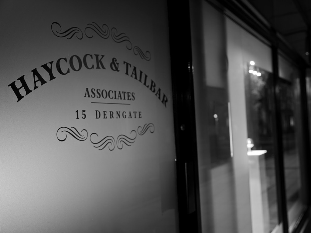 Haycock & Tailbar Entrance