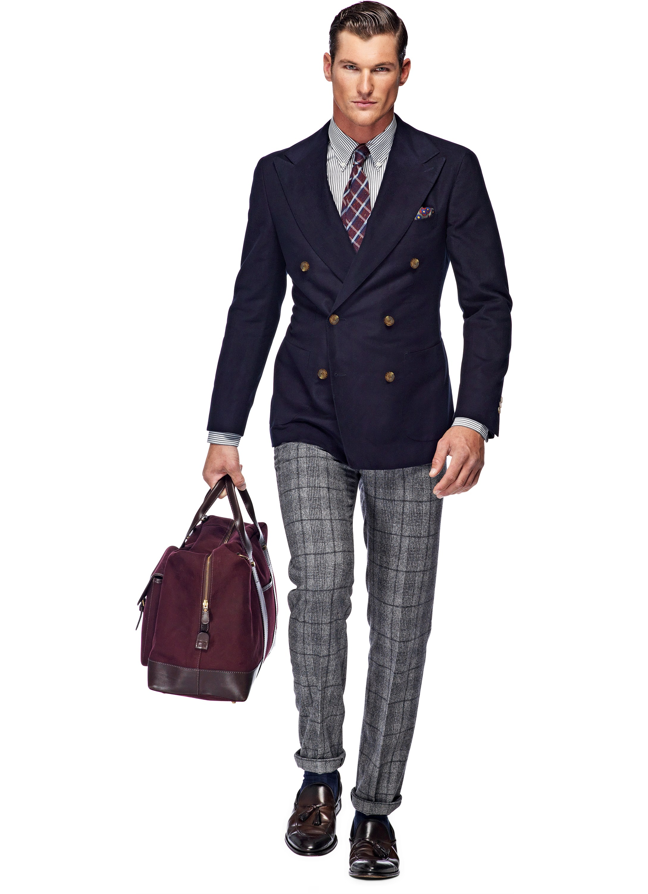 Suitsupply Madison Navy Plan Spring look