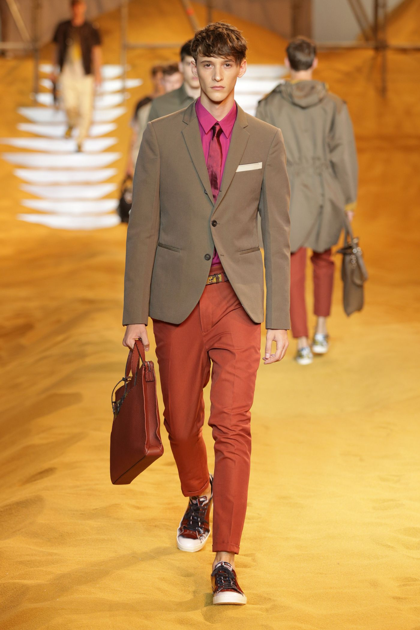Fendi Spring/Summer '14 Menswear Collection