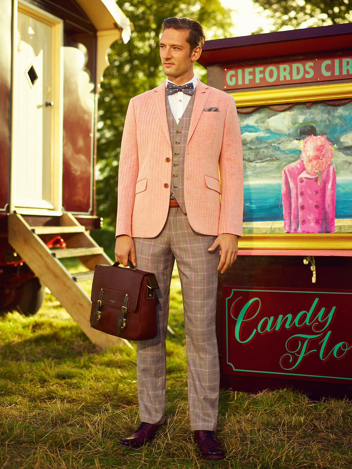 Ted Baker Spring/Summer '14 Menswear Collection