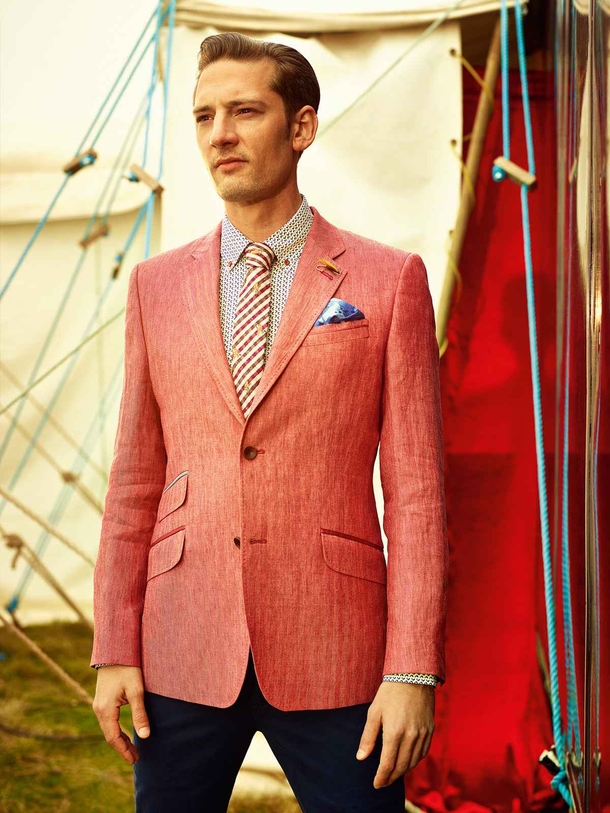 Ted Baker Spring/Summer Menswear 14 collection