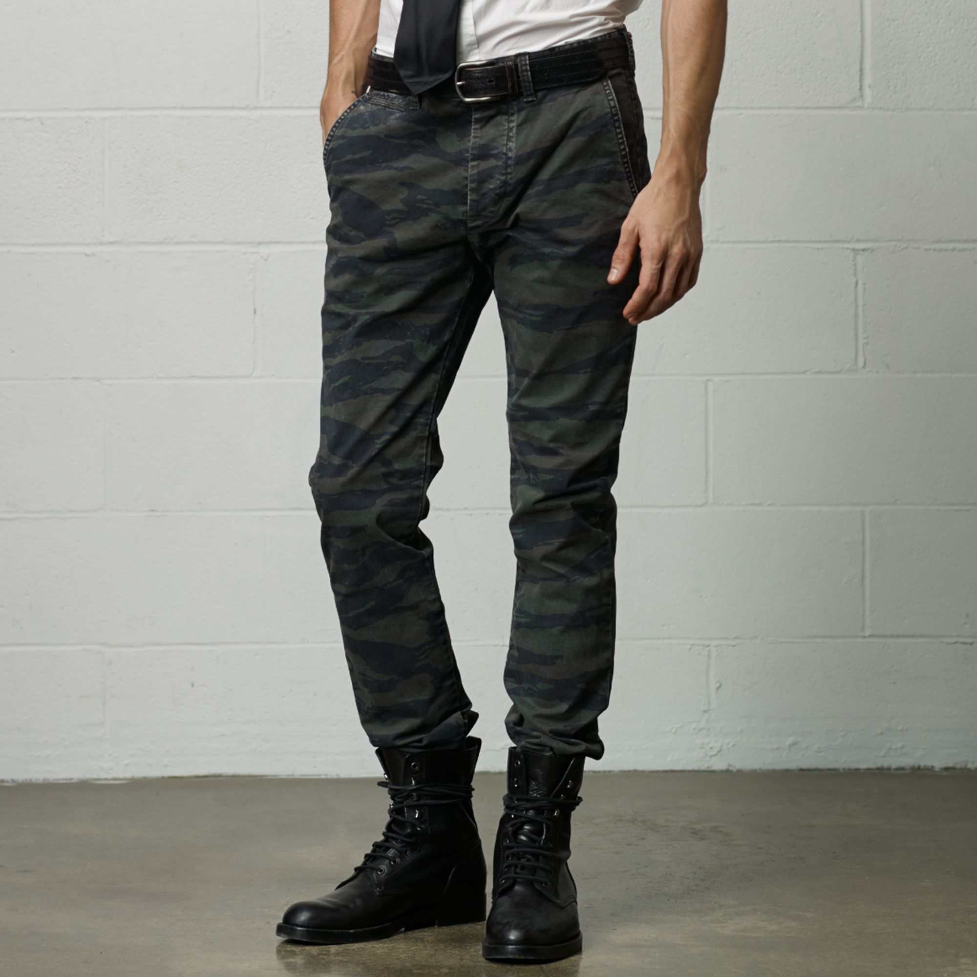 Ralph Lauren: Slim-fit Camouflage Chinos: £110.00. Source: Ralph Lauren