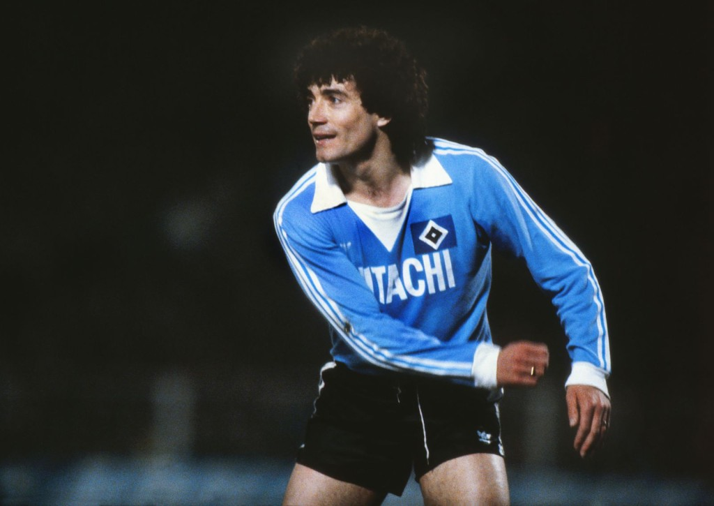 Kevin Keegan at Hamburg