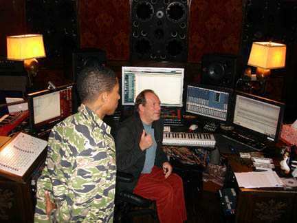 Pharrell and Hans Zimmer