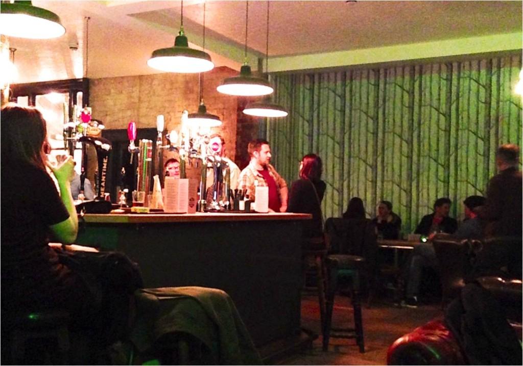 Saturday night at the Garibaldi
