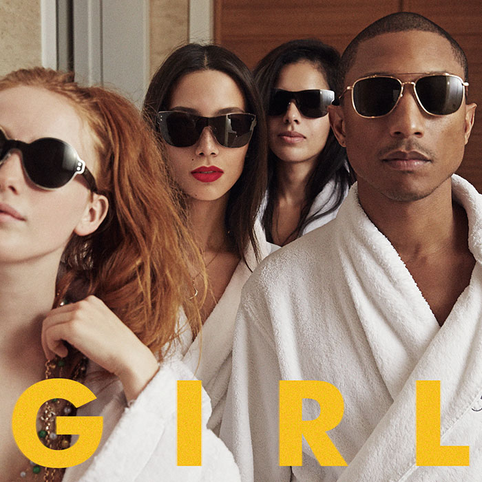 Pharrell GIRL artwork
