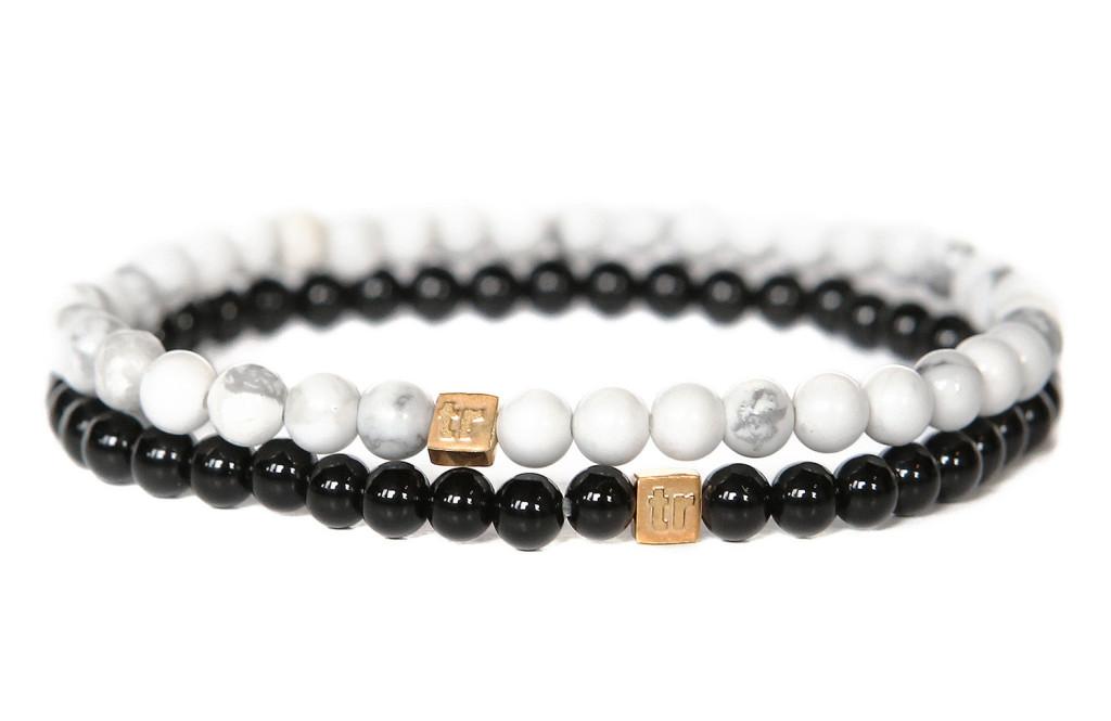 Stone Bracelets Monochrome