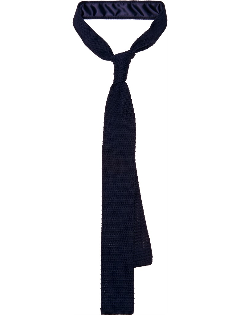 Navy Knit Tie, £39.00. Source: suitsupply.com