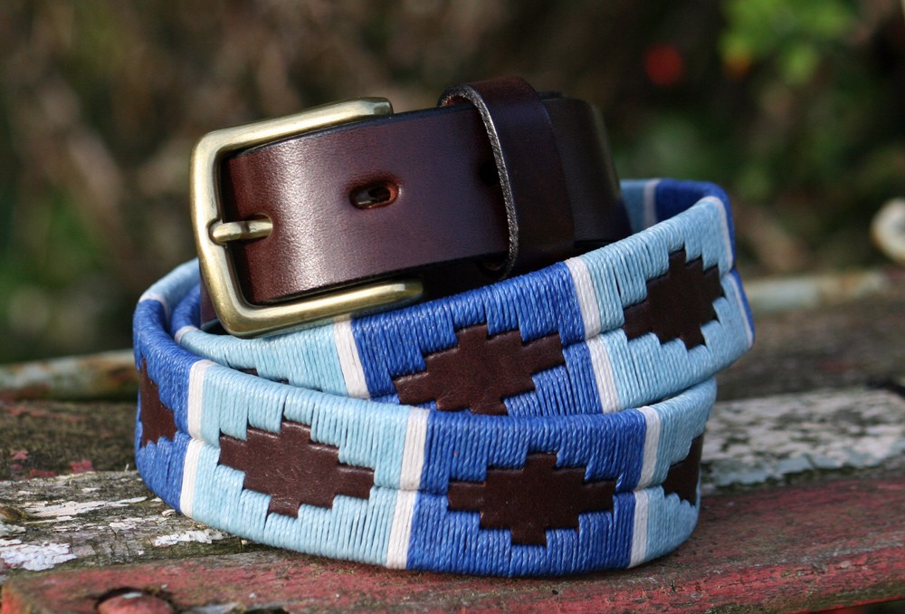 polka dot pie polo belt