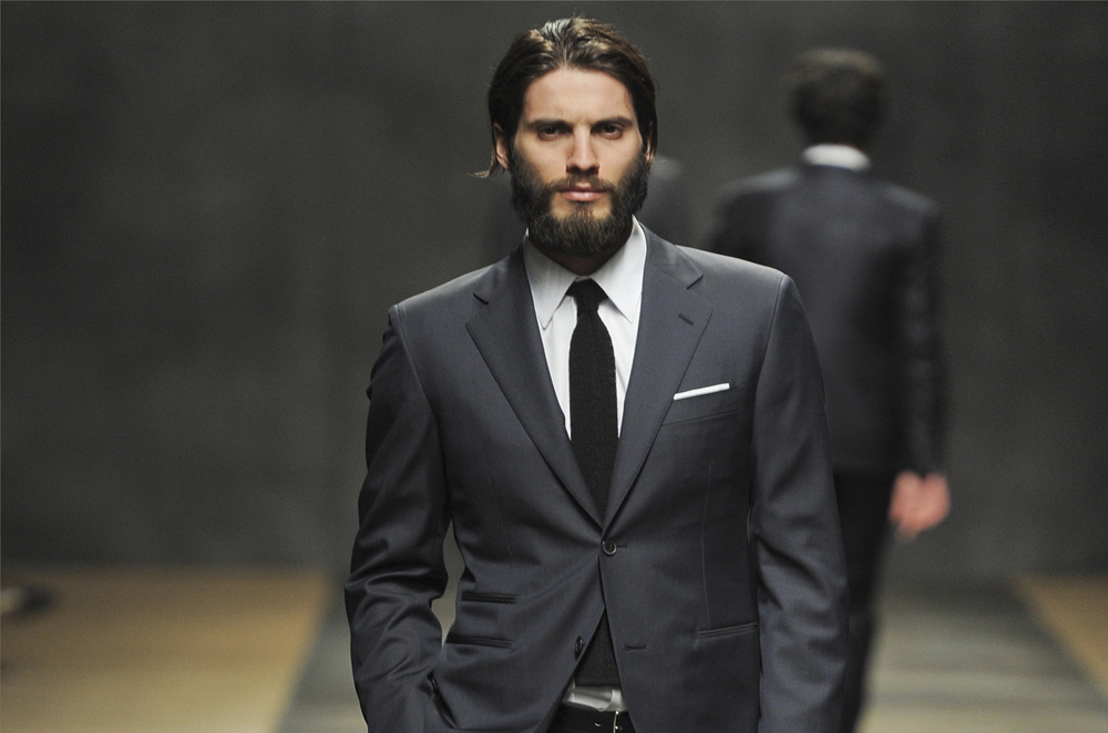 suit beard combination vogue