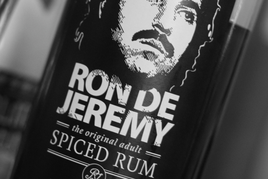 Ron de Jeremy spiced rum Princess Alexandra
