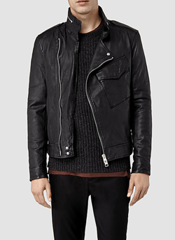 All Saints Chatton Leather Jacket