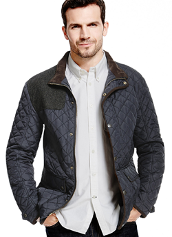 Quilted Jacket w/ Stormwear