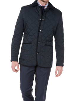 George Quilted Jacket TM Lewin