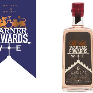 Warner Edwards' latest release, the Victoria Rhubarb Gin