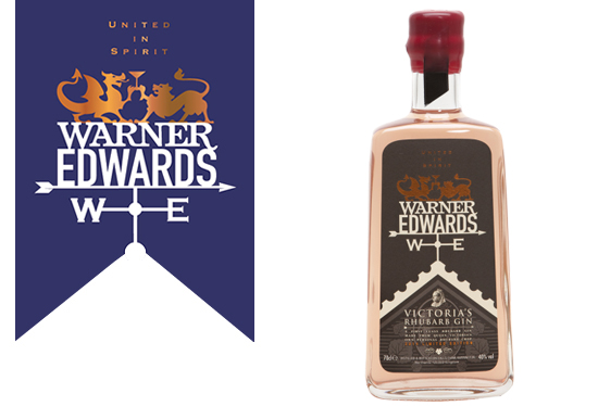 Warner Edwards' latest release, the Victoria Rhubarb Gin