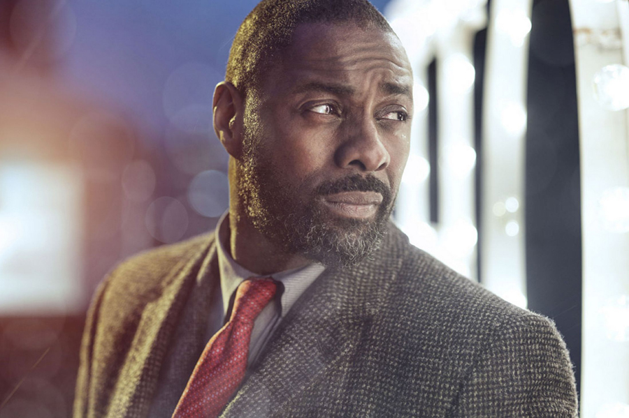 Idris Elba from Luther