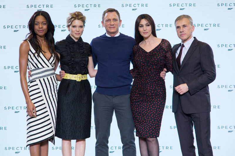 Skyfall cast. Source: www.007.com