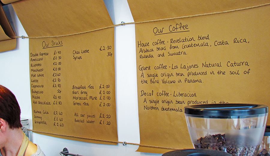 Magee Street Bakery Coffee Selection
