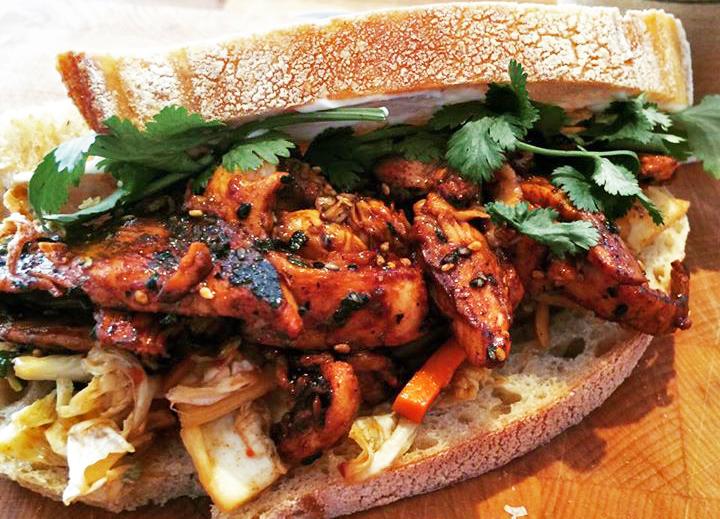 Magee Street Bakery Sandwich
