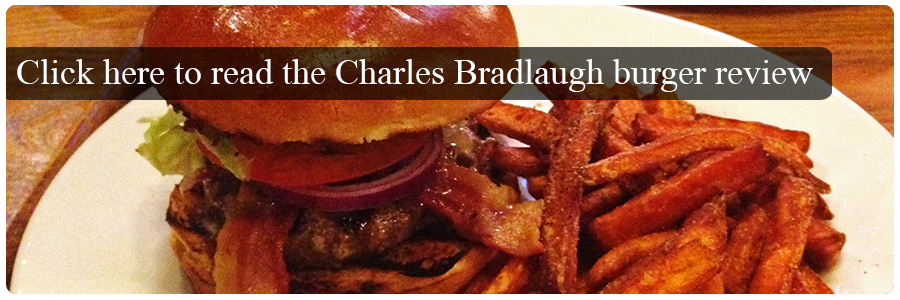 The Charles Bradlaugh Burger