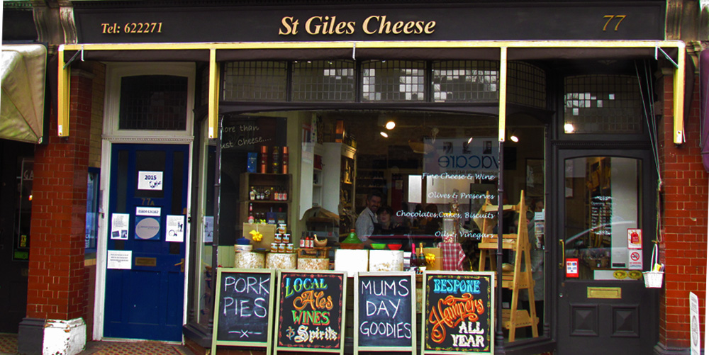 st giles street cheese shop