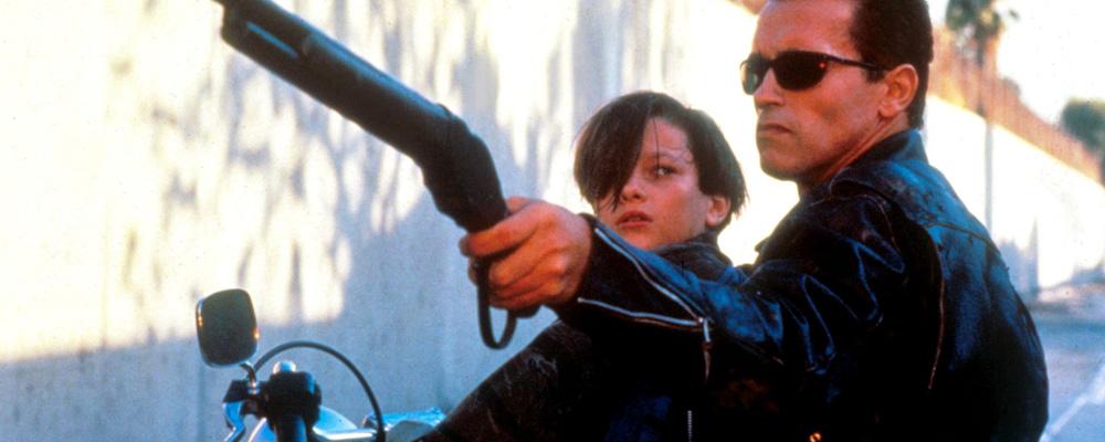 The Terminator 2 Arnie