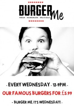 The Picturedrome Burger Wednesday