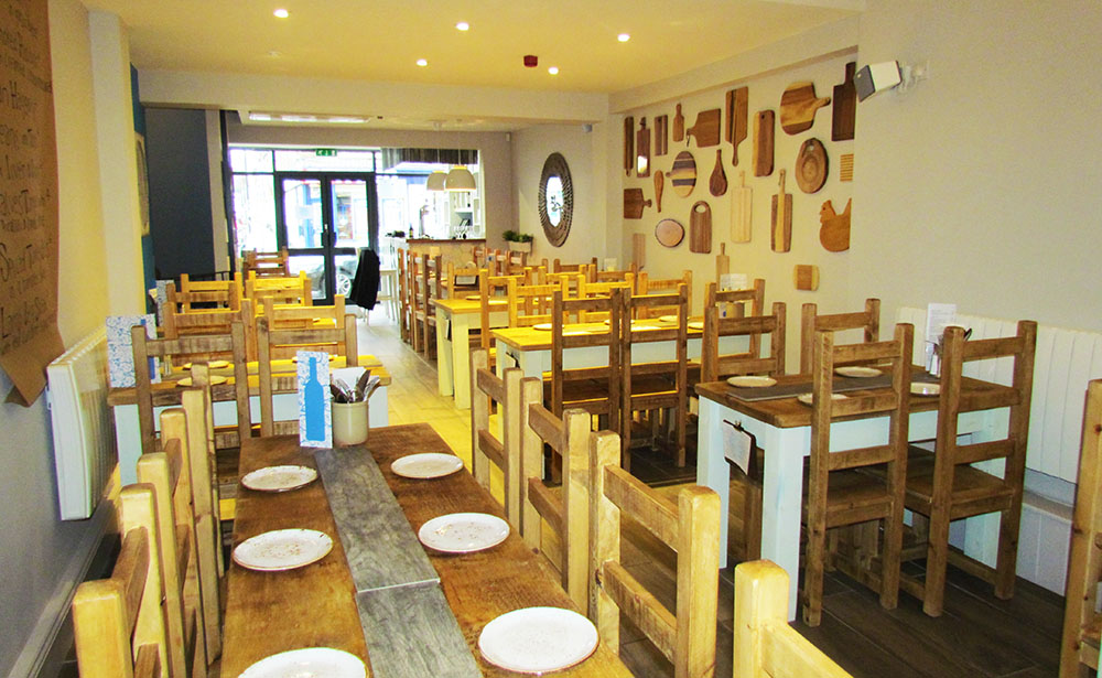 Bread & Pullet Restaurant Northampton Inside