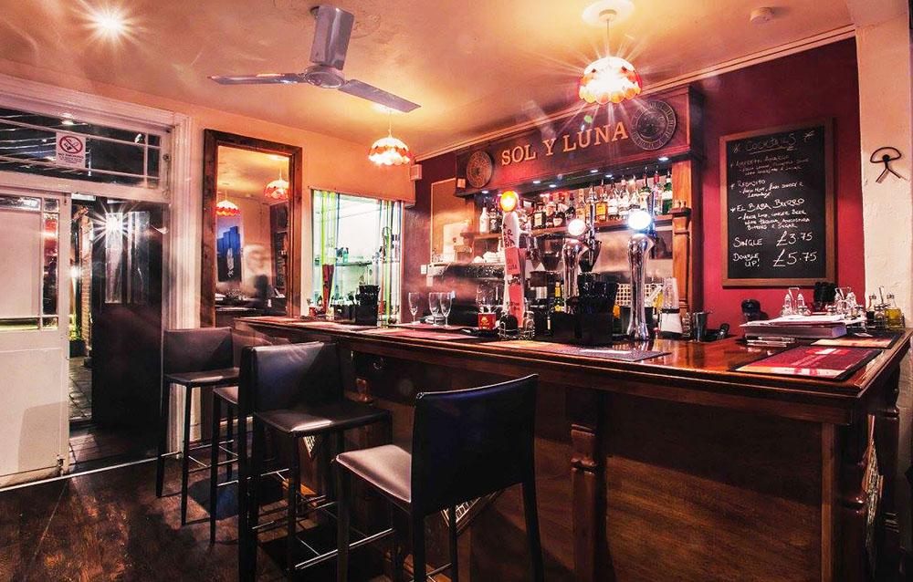 Sol Y Luna Front Bar