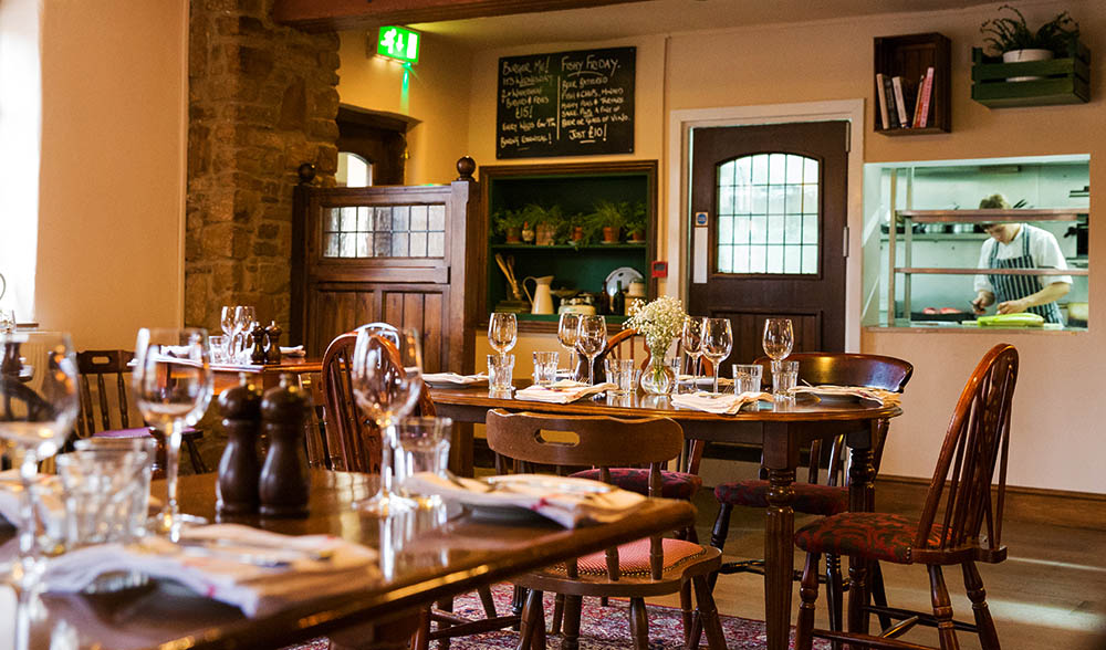 The Wheatsheaf Dining Room and Kitchen