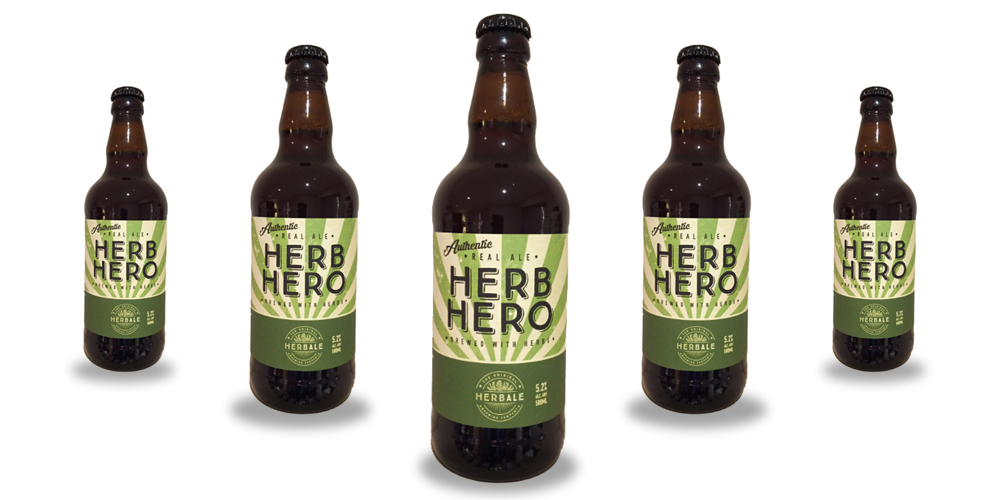 Herb Hero Northampton Original HerbAle Brewery